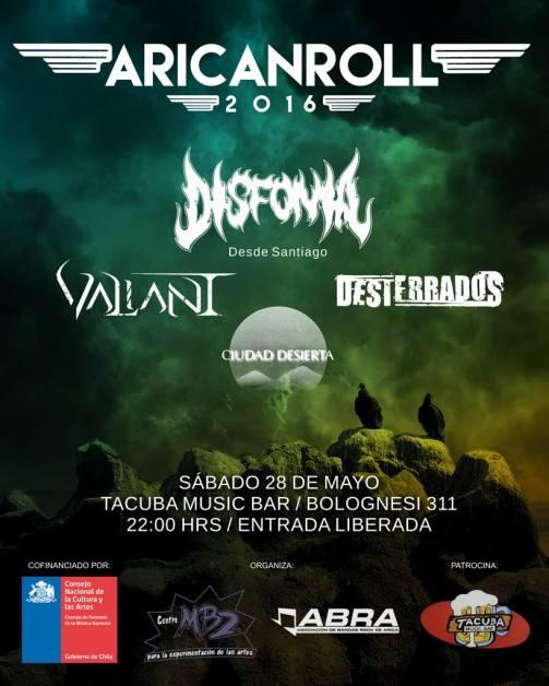 Afiche Aricanroll
